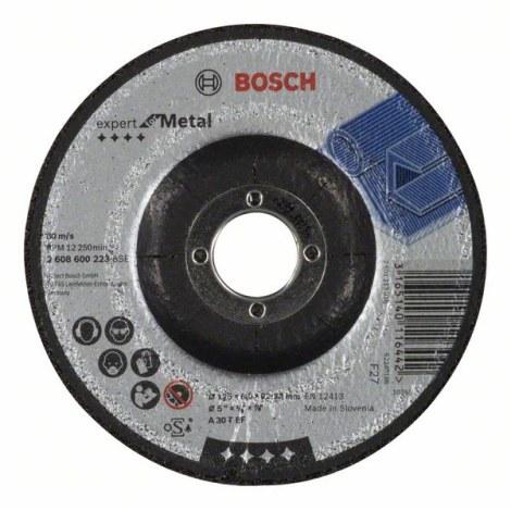 Šlifavimo diskas A 30 T BF; Ø125x6 mm