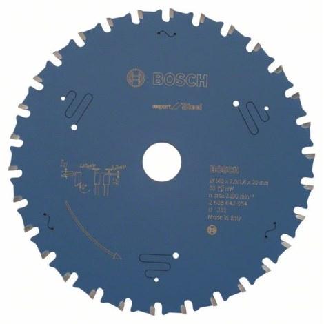 Pjovimo diskas metalui Bosch; 160x2x20,0 mm; Z30; 0°