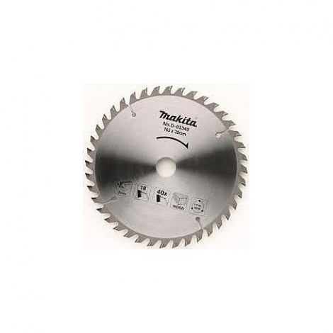 Pjovimo diskas medienai Makita; 185x1,8x30,0 mm; Z40; 20°
