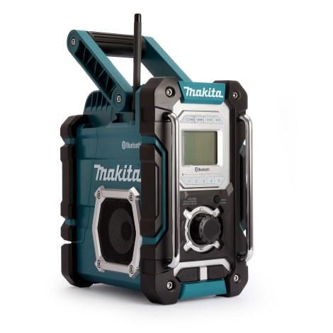 Radijas Makita DMR108 Bluetooth®; 7,2-18V (be akumuliatoriaus ir pakrovėjo)