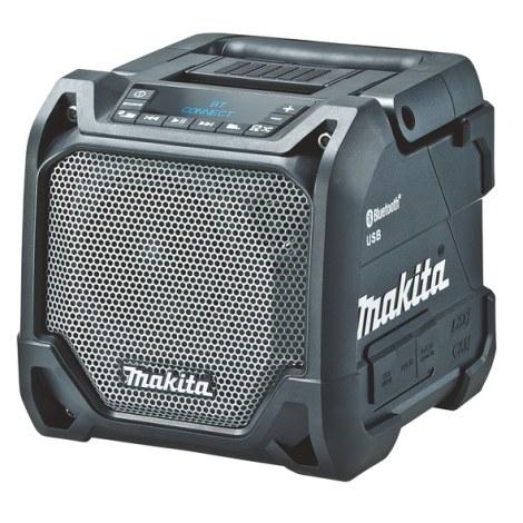 Bluetooth® garso kolonėlė Makita DMR202; 12-18 V; Juoda; (be akumuliatoriaus ir pakrovėjo)