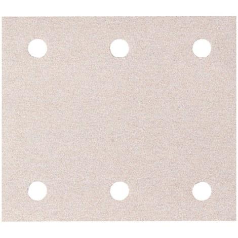 Šlif. popierius vibro šlifuokliui; 114x102 mm; P100; 10 vnt.
