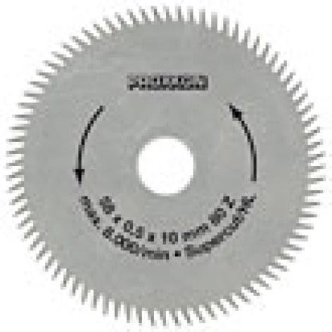 Pjovimo diskas Proxxon Super Cut; 50x0,5x10,0 mm; Z80