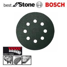 Šlif. popierius eksc. šlifuokliui; Best for Stone; Ø125 mm; K180; 5 vnt.