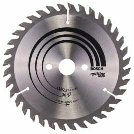 Pjovimo diskas medienai Bosch; OPTILINE WOOD; Ø150 mm
