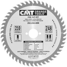 Pjovimo diskas medienai CMT 210x2,8x30; Z48; 15°