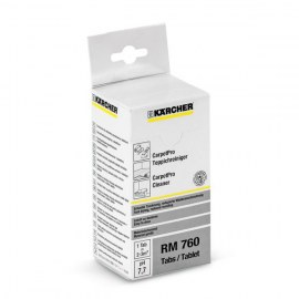 Kilimų valiklis tabletėmis Karcher RM 760; 16 vnt.