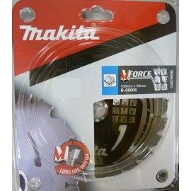 Pjovimo diskas medienai Makita MFORCE; 165x2x20,0 mm; Z24; 15°