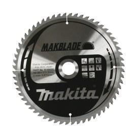 Pjovimo diskas medienai Makita MAKBLADE; 260x2,3x30,0 mm; Z64; 5°