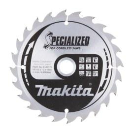 Pjovimo diskas medienai Makita; 165x1,5x20,0 mm; Z24; 20°