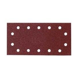Šlif. popierius vibro šlifuokliui; 115x280mm; K40; 10 vnt.