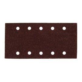 Šlif. popierius vibro šlifuokliui; 229x115 mm; P60; 10 vnt.
