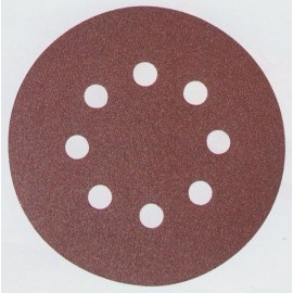 Šlif. popierius Velcro Backed; Ø125 mm; K100; 10vnt.