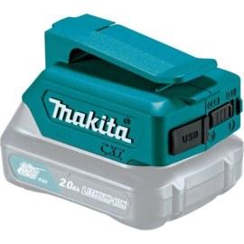 Akumuliatorių adapteris Makita 12V -> USB;tinka krauti telefono baterijoms
