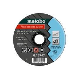 Šlifavimo diskas Metabo A30-O; Ø125x6 mm