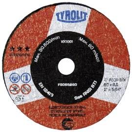 Abrazyvinis pjovimo diskas Tyrolit; Ø63x2x10 mm; 1 vnt.
