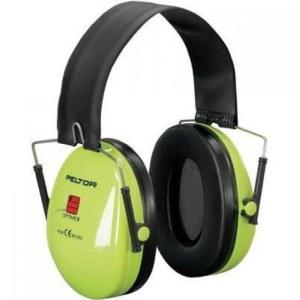 Apsauginės ausinės 3M Peltor Optime I Hi-Viz; 27 dB; žalios
