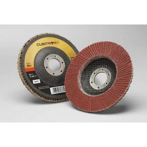 Vėduoklinis šlifavimo diskas 3M Cubitron II 969F; 125 mm; P60
