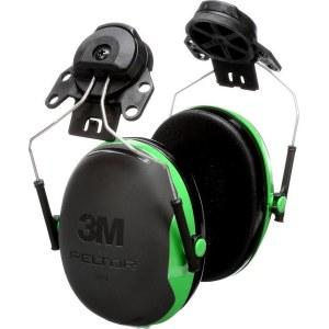 Apsauginės ausinės 3M Peltor X1P3E-GA; 26 dB; žalios