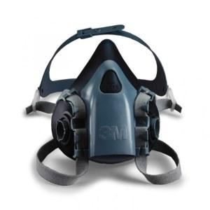 Apsauginė kaukė 3M 7503; L (be filtrų)