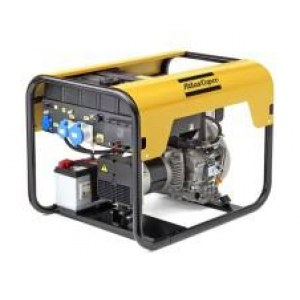 Generatorius Atlas Copco QEP R10 AVR CON ELR; 8,2 kW; dyzelinis + alyva