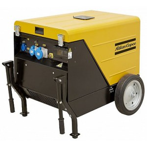 Generatorius Atlas Copco QEP S10 AVR CON ELR; 8,2 kW; dyzelinis + alyva