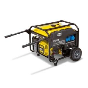 Vienfazis generatorius Atlas Copco P6500; 5,5 kW; benzininis + alyva