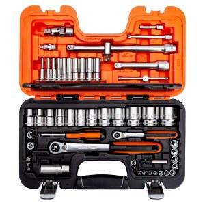 Įrankių komplektas Bahco S560; 56 vnt.