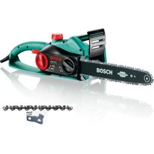 Grandininis pjūklas Bosch AKE 35 S; elektrinis; 1,8 kW; 35 cm juosta + papildoma grandinė dovanų!