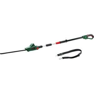 Teleskopinės gyvatvorių žirklės Bosch Universal Hedge Pole 18; 18 V; akumuliatorinės; 43 cm ilgio (be akumuliatoriaus ir pakrovėjo)
