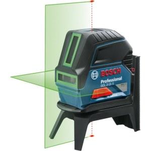 Lazerinis nivelyras Bosch GCL 2-15 G; žalias + laikiklis RM1