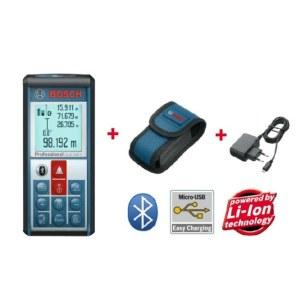 Lazerinis atstumų matuoklis Bosch GLM 100 C su Bluetooth® jungtimi