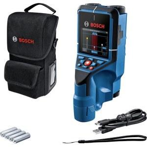 Metalo ir medienos ieškiklis Bosch D-Tect 200 C; 1,5 V; 4xAA