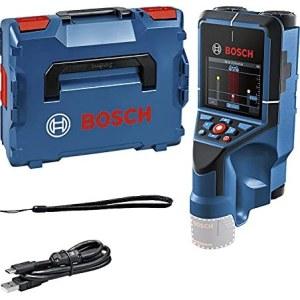 Metalo ir medienos ieškiklis Bosch D-tect 200 C; 12 V; (be akumuliatoriaus ir pakrovėjo)