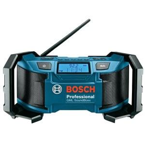 Radijo imtuvas Bosch GML 14,4/18 V (be akumuliatoriaus ir pakrovėjo)