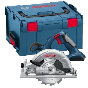 Akumuliatorinis diskinis pjūklas Bosch GKS 18 V-LI Solo (be akumuliatoriaus ir pakrovėjo)