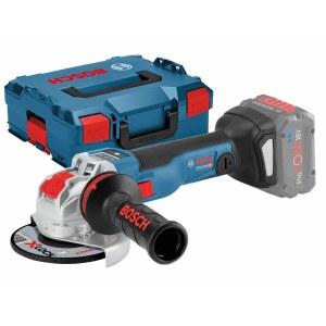 Kampinis šlifuoklis Bosch GWX 18V-10 SC SOLO X-Lock; 18 V (be akumuliatoriaus ir pakrovėjo)