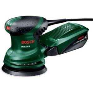 Ekscentrinis šlifuoklis Bosch PEX 220 A