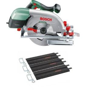 Diskinis pjūklas Bosch PKS 66-2 AF AKC + 3x35 cm kreipiančioji liniuotė