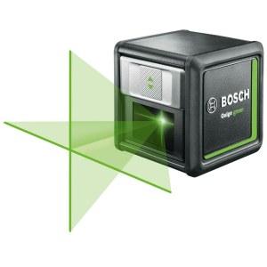 Kryžminis lazerinis nivelyras Bosch QUIGO Green; su stovu MM2