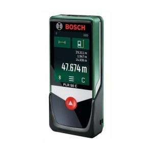 Lazerinis atstumų matuoklis Bosch PLR 50C su Bluetooth® jungtimi