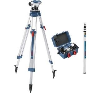 Optinis nivelyras Bosch GOL 26D  + BT160 Prof. + GR500 Prof.