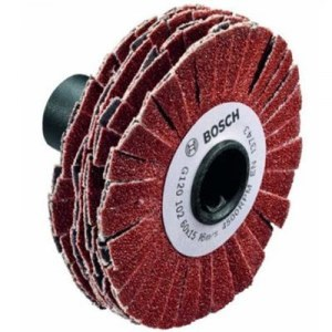 Žiedlapinis šlifavimo diskas Bosch; 60x15 mm; K120; 1 vnt.
