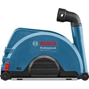 Apsauginis gaubtas su dulkių nusiurbimu kampiniams šlifuokliams Bosch GDE 230 FC-T