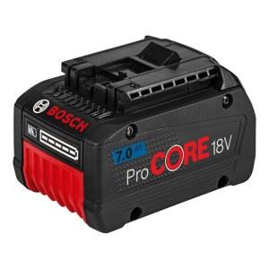Akumuliatorius Bosch GBA 18 V Pro Core; 7,0 Ah; 1 vnt.