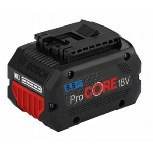 Akumuliatorius Bosch GBA ProCORE; 18 V; 5,5 Ah akum.