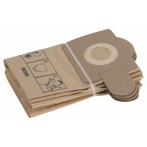 Popieriniai maišeliai dulkių siurbliui Bosch, PAS 12-27, 5 vnt.