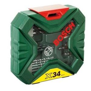 Grąžtų komplektas Bosch X-Line Classic; 34 vnt