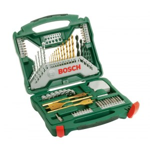 70 dalių priedų komplektas Bosch TITANIUM