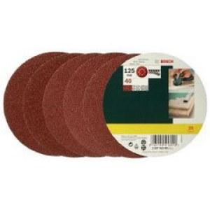 Šlif. popierius eksc. šlifuokliui; Best for Wood; Ø125 mm; K40; 25vnt.